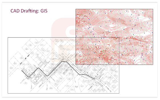 CAD Drafting: GIS Sample