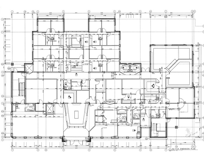 As built drawings for Construction plan drawing