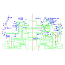 Mechanical Drawing Conversion