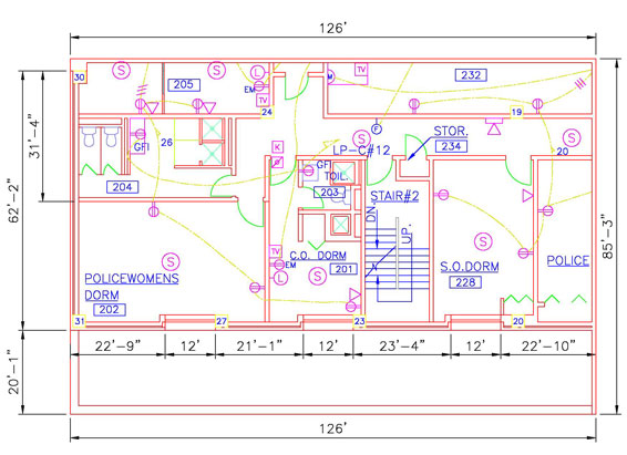 Home House Electrical Circuit Symbols And Design Layout on typical house electrical wiring diagram